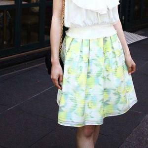 芸能人が瀧口友里奈で着用した衣装スカート
