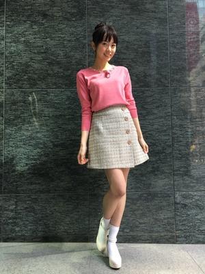 齋藤明里が王様のブランチで着用したスカート